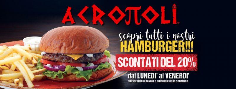 Offerta Hamburger Da Asporto Ancona - Occasione Hamburger Consegna a Domicilio Ancona