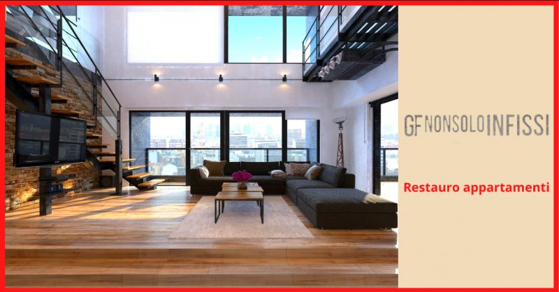 GF NON SOLO INFISSI - offerta restauro appartamenti Roma