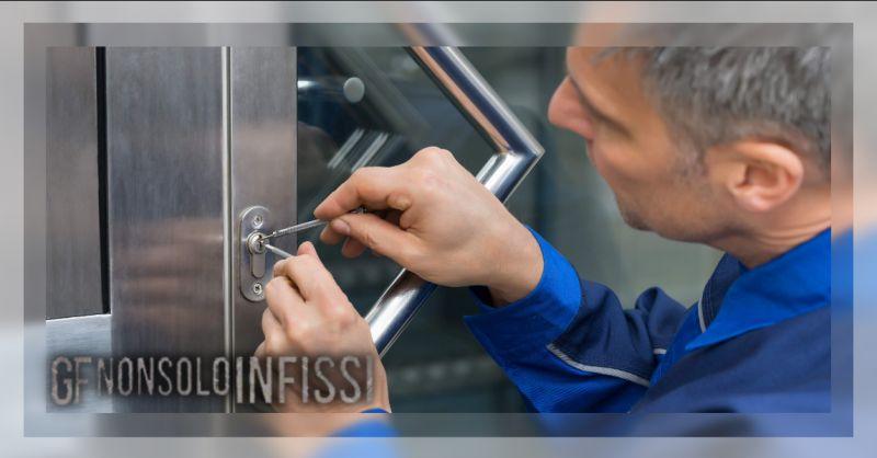 GF NON SOLO INFISSI - Offerta apertura serrature con cilindro europeo di sicurezza Mostacciano