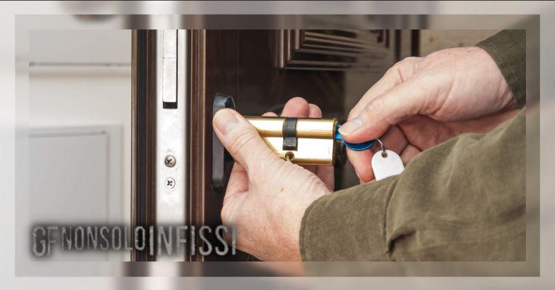 GF NON SOLO INFISSI - Offerta ditta apertura serratura di sicurezza europea Roma Laurentina