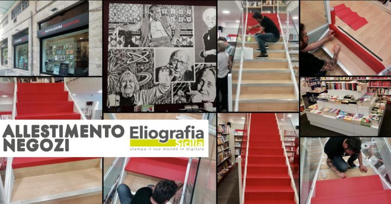 offerta allestimento negozi catania - occasione servizio allestimenti negozio sicilia