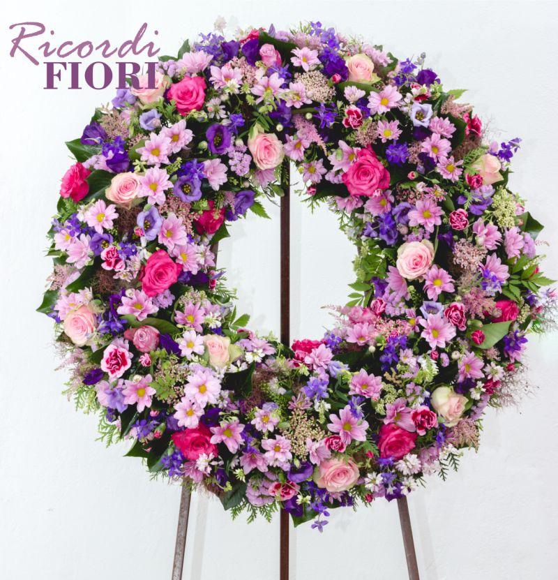 RICORDI FIORI corone di fiori per funerali - addobbi funerai piazza del tricolore