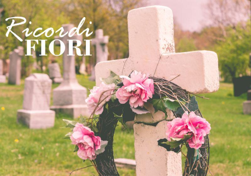 RICORDI FIORI messa a suffragio defunti - addobbi floreali ricordo morti ricorrenze funebri