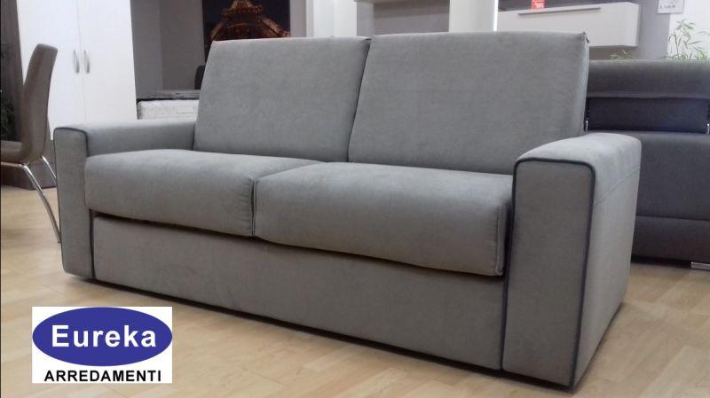 promozione divano letto con materasso Vercelli - EUREKA ARREDAMENTI moderni e classici