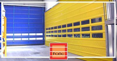 offerta installazione porte veloci in pvc occasione vendita porte rapide industriali verona