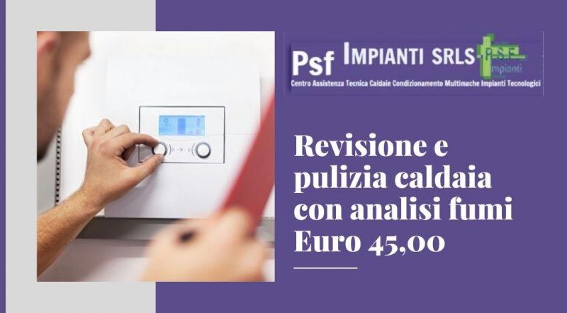 Offerta revisione caldaia con analisi fumi a Novara – Occasione pulizia caldaia a Novara