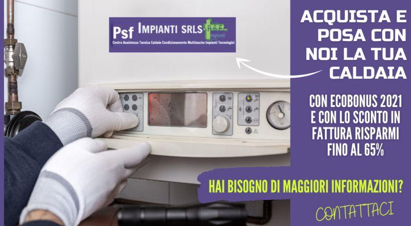 Offerta sostituzione caldaia ecobonus 2021 a Novara – occasione detrazione fiscale cambio caldaia a Novara