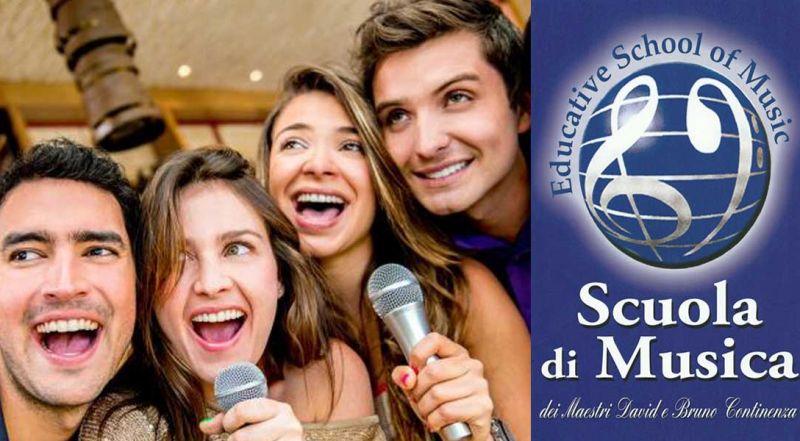 Offerta corso di canto Roma - Promozione scuola di musica Roma Sud