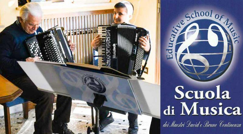 Offerta scuola di fisarmonica Roma - Promozione scuola di musica Roma