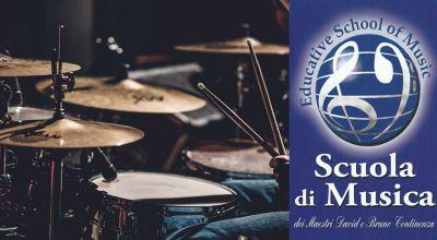 offerta corso di batteria roma promozione scuola di musica roma sud