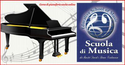 educative school of music offerta corso di pianoforte on line roma