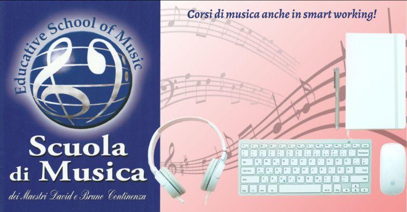 EDUCATIVE SCHOOL OF MUSIC - Offerta corsi di musica in smart working Roma