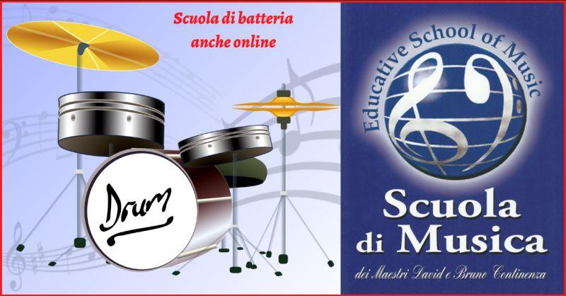 EDUCATIVE SCHOOL OF MUSIC - Offerta scuola di batteria online Roma