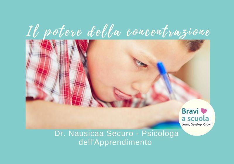 Occasione Corso: come imparare a concentrarsi nello studio. Psicologa Apprendimento, Dr. Nausicaa Securo Cittadella PD