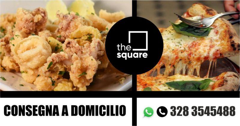 The Square - offerta consegna piatti pronti e pizza a domicilio Sassari