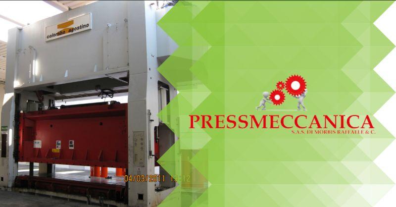 Offerta servizio manutenzione presse meccaniche Bergamo - occasione presse industriali Bergamo