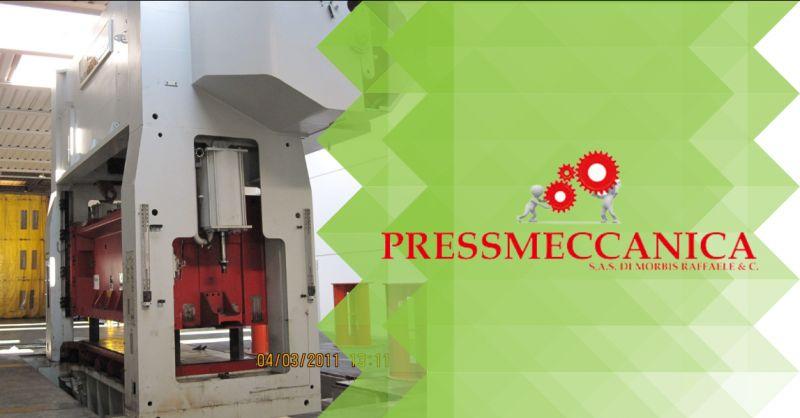 Offerta presse meccaniche usate Bergamo - occasione vendita presse industriali usate Bergamo