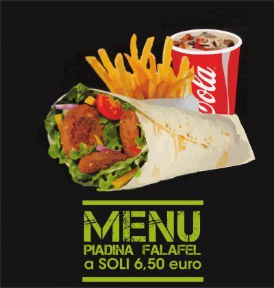 da vinci offerta piadina falafel promozione consegna a domicilio gratuita