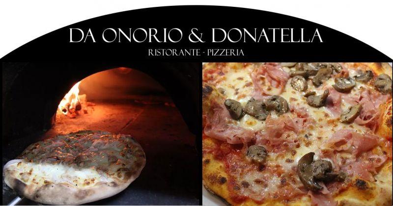 Da Onorio e Donatella Porto Rotondo  - offerta pizza cotta nel forno a legna