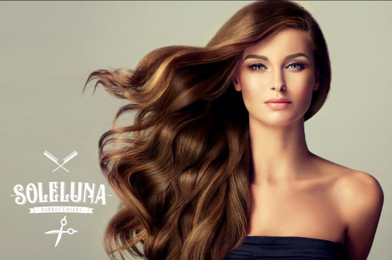 SOLELUNA salone di parrucchieri hair beauty routine - promozione trattamento chioma