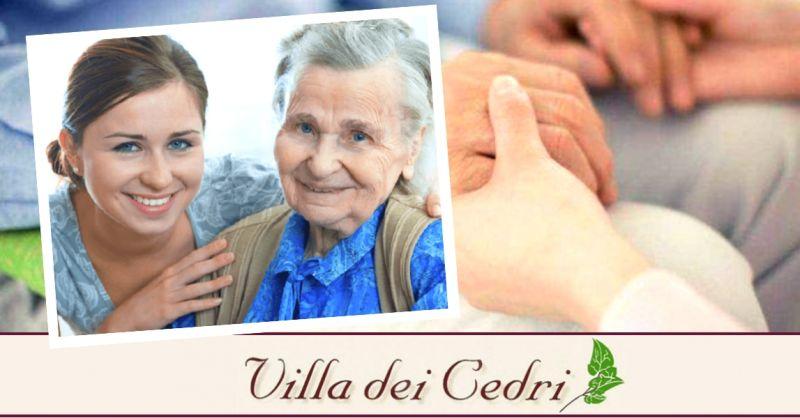 VILLA DEI CEDRI - Offerta struttura con servizi qualificati per la cura di anziani Bologna