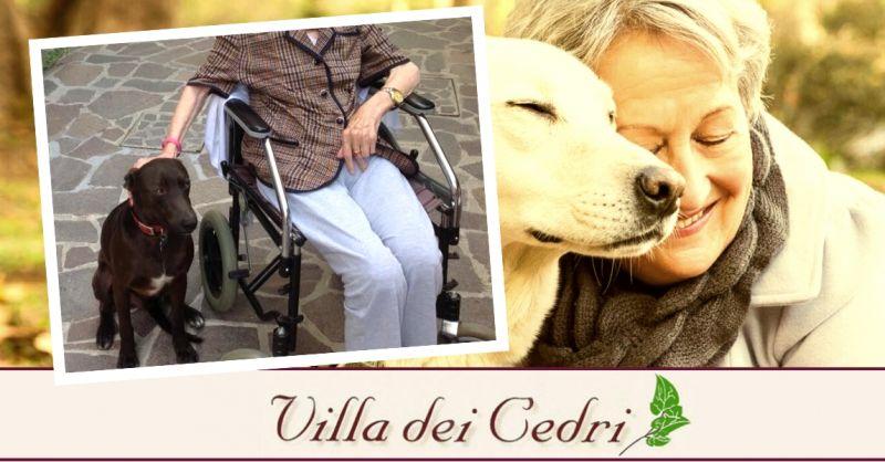 Offerta servizio pet therapy per anziani - occasione struttura con attività per anziani Bologna