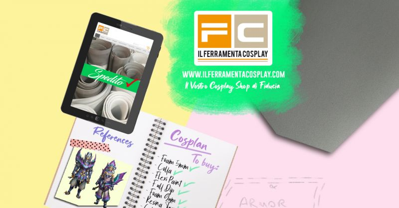Il Ferramenta Cosplay - Offerta vendita on line articoli e materiali Cosplay