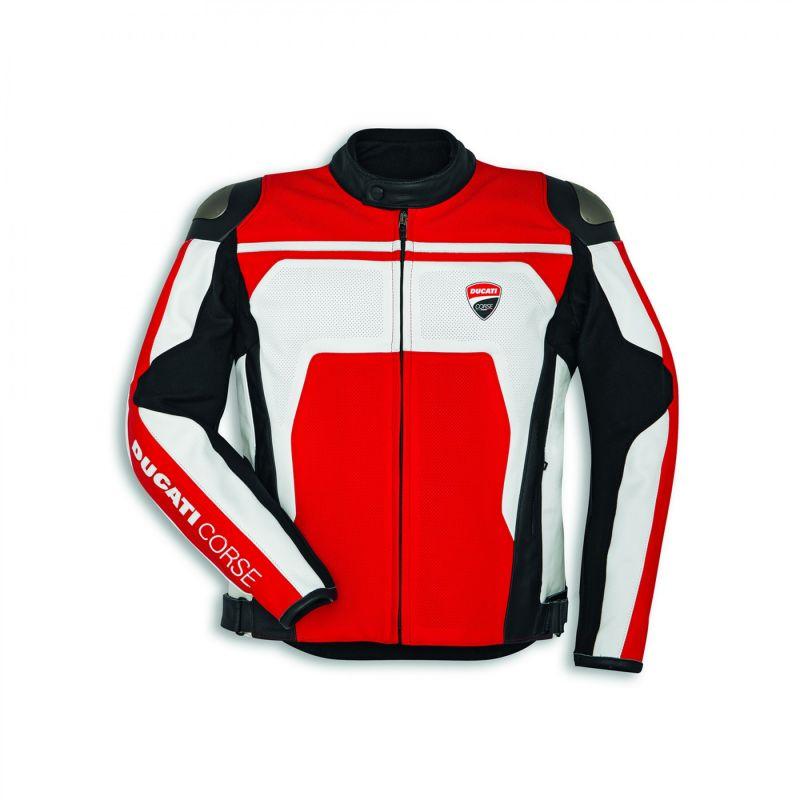 Giacca in pelle Ducati Corse C4