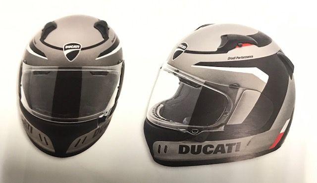 Casco Ducati Black Steel