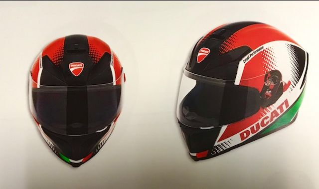 Casco Ducati Peak V3
