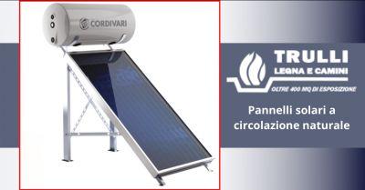 trulli legna e camini offerta pannelli solari a circolazione naturale ostia