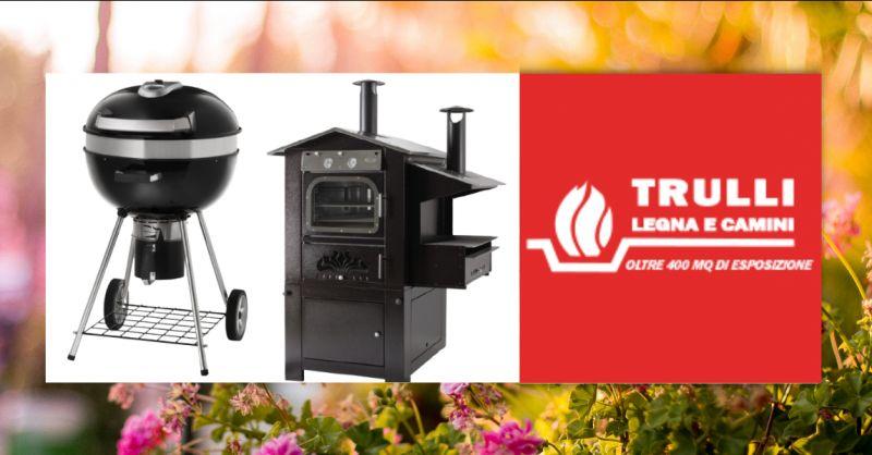 Offerta negozio vendita forni a legna Aprilia - occasione vendita barbecue a gas Pomezia