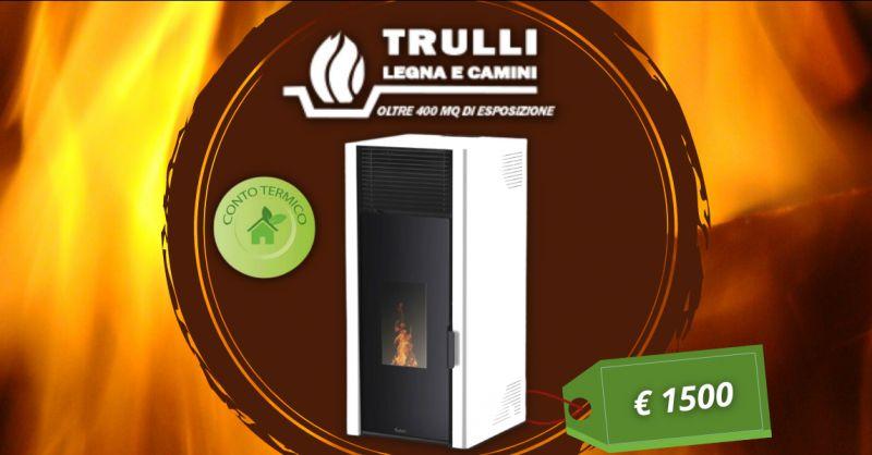 TRULLI LEGNA E CAMINI - Offerta vendita termostufa a pellet Alysa Kalon ventiquattro KW
