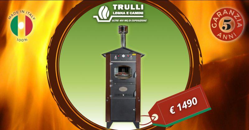 Offerta vendita forno a legna Rosso Fuoco - promozione forni Rossofuoco ottanta cm prezzo