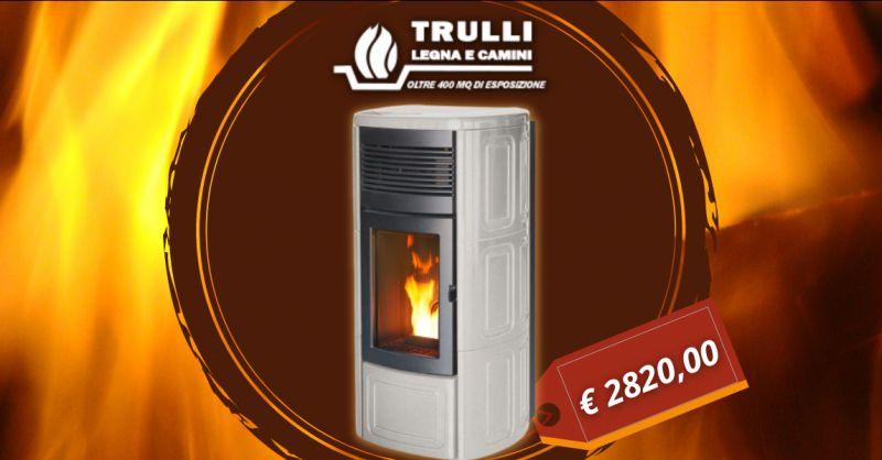 TRULLI LEGNA E CAMINI - Offerta termostufa a pellet MCZ Suite Hydromatic sedici KW