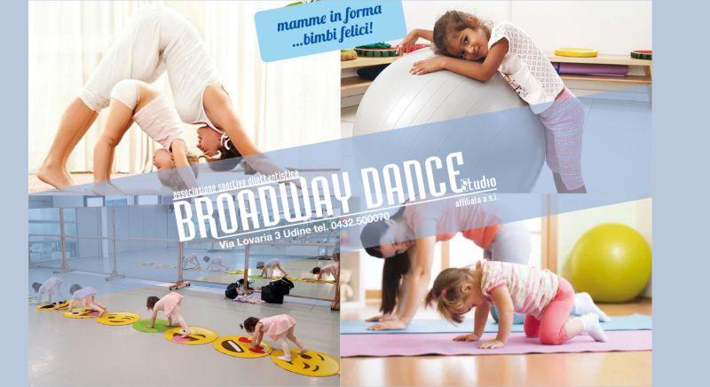 Offerta corsi di danza creativa per mamme e bambini Udine - occasione corsi di psicomotricità Udine