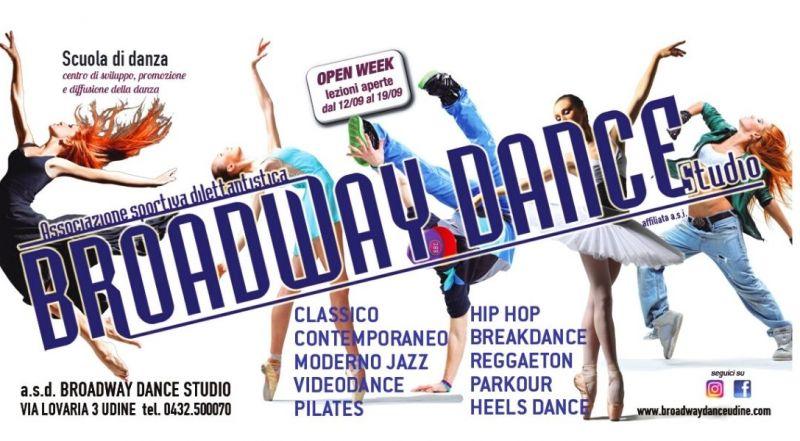 Occasione prove di danza gratuite a Udine – offerta scuola di danza moderna classica hip pop parkour a Pordenone
