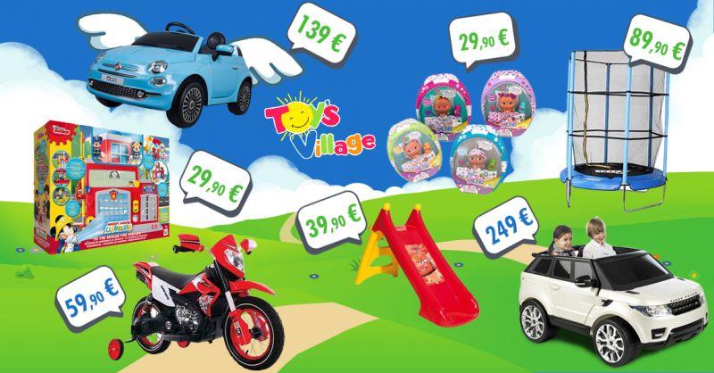 TOY'S VILLAGE - offerta giocattoli bambini volantino ottobre castelvetrano trapani