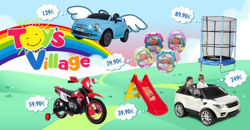 TOY'S VILLAGE - offerta giochi per bambini volantino novembre castelvetrano