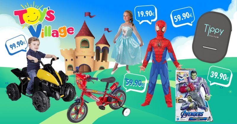 TOY'S VILLAGE  Offerta Maschere Carnevale Bambini Castelvetrano - Occasione Tippy Antiabbandono Castelvetrano