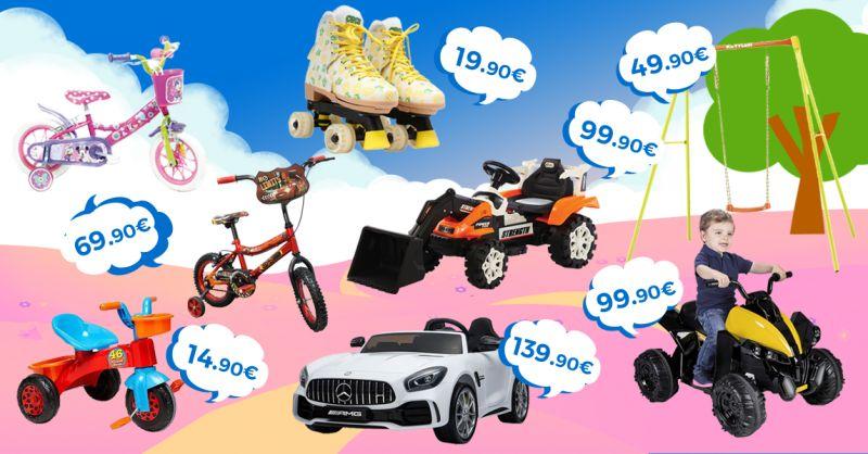 Offerta Vendita BIci per Bambini Castelvetrano - Occasione Giochi per Bambini all'aperto Castelvetrano