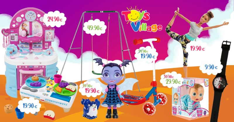 Offerta Nuove Offerte Toy's Village Castelvetrano - Occasione Regalo per Bambini e Bambine
