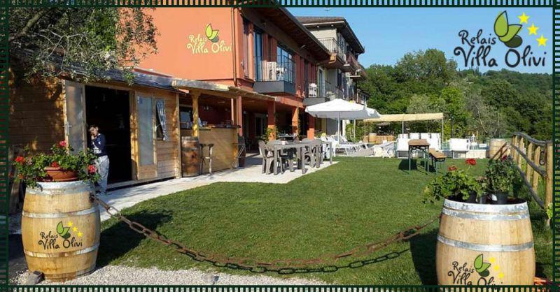 RELAIS VILLA OLIVI - Angebot - Urlaub am Gardasee Brenzone Luxusstruktur Relais Villa