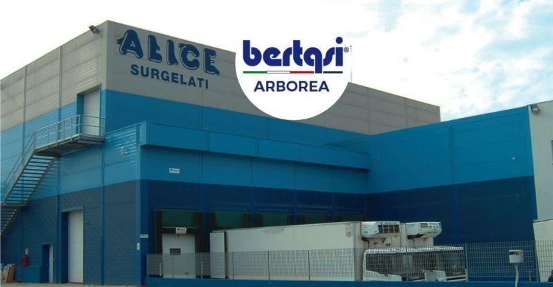 BERTASI- offerta realizzazione strutture metalliche in acciaio zincato ad uso industriale