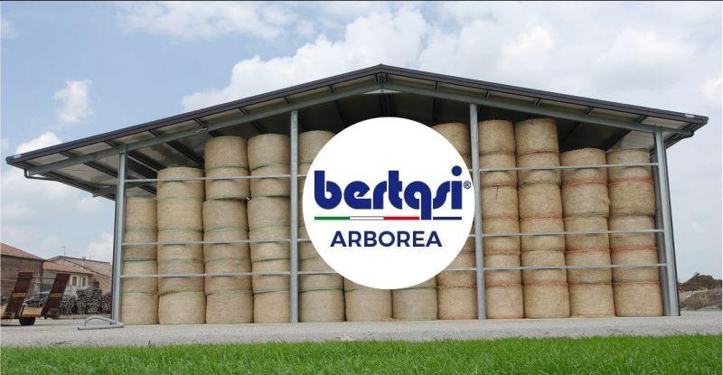 BERTASI - offerta impianti moderni per deposito rotoballe di fieno