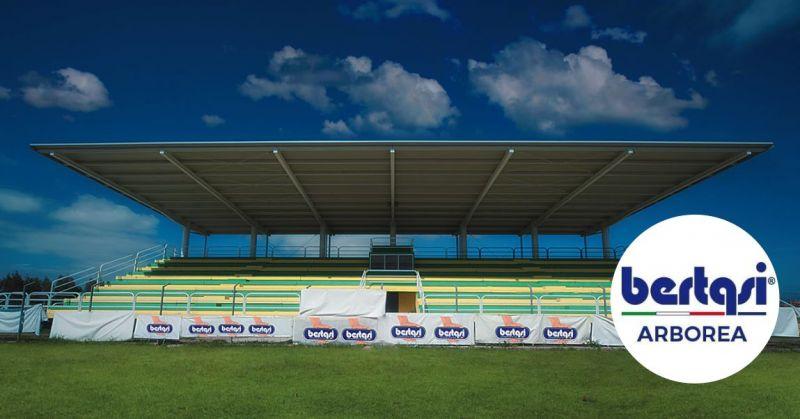 BERTASI - offerta realizzazione  strutture polivalenti per impianti sportivi chiavi in mano