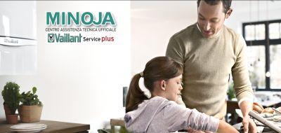 minoja offerta manutenzione periodica caldaia vaillant promozione assistenza tecnica caldaie 7 giorni