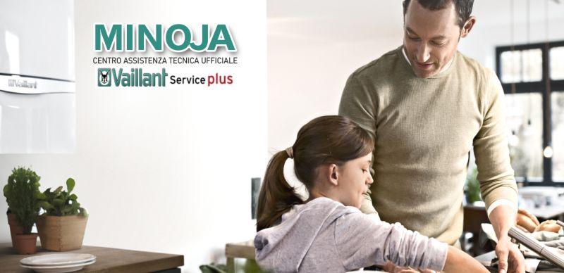 MINOJA offerta manutenzione periodica caldaia vaillant - promozione assistenza tecnica caldaie 7 giorni