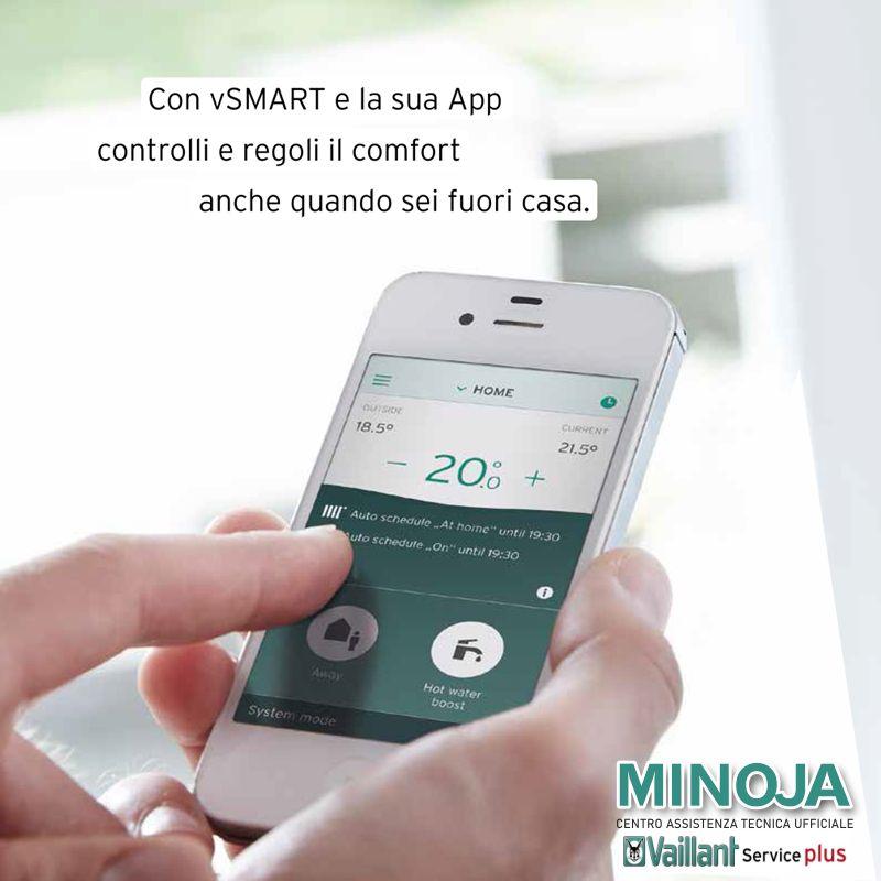 MINOJA offerta termostato multifunzione wifi - promozione regolazione riscaldamento app smart