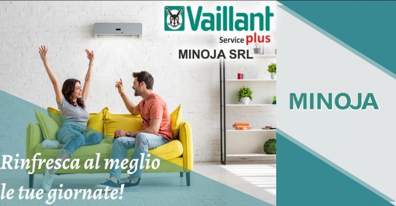 MINOJA - Offerta vendita montaggio e assistenza su climatizzatori Bergamo